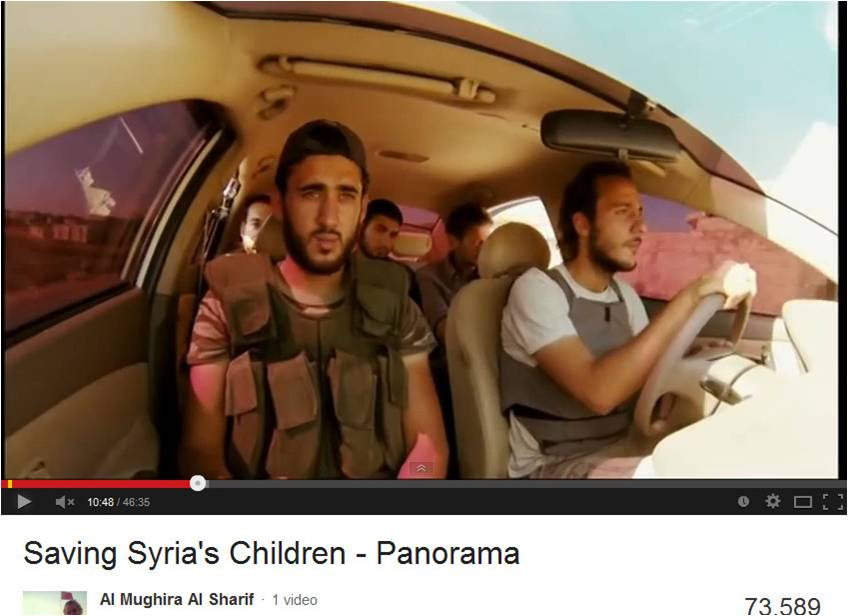 picture13   Fabrication in BBC Panorama 'Saving Syria's ...