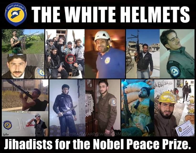Afbeeldingsresultaat voor the fake white helmets